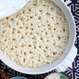 吸水不要でふっくら鍋炊き☆玄米のびっくり炊き!