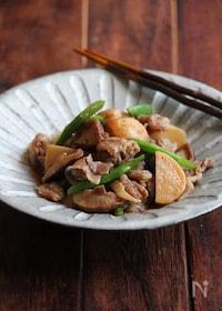 『豚と里芋の簡単煮物。』