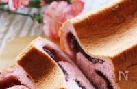 桜の時期に食べたい♡HBで簡単♪桜香る桜餅風の餡ロール食パン