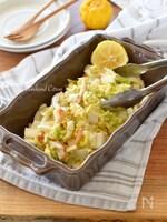 白菜とかまぼこ(カニカマ)のコールスローサラダ