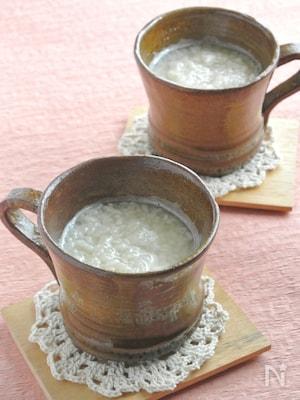 簡単!米麹だけで作る甘酒