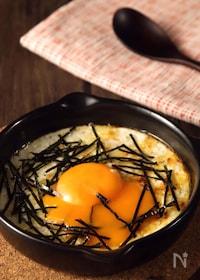 『トースターで簡単すぐでき♪長芋と卵のとろふわ焼き』
