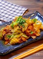 【ささっと炒めて完成!!】豚こま肉とキャベツの辛味噌炒め