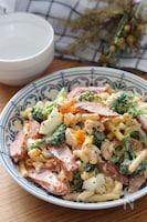 マヨドレが美味♡ソーセージと卵でボリューム満点マカロニサラダ