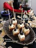 黒豆チーズの和ピンチョス