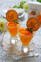 濃厚オレンジ❇つぶつぶ果肉が弾けるふるふるオレンジゼリー