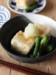 フライパンで作る揚げ出し豆腐