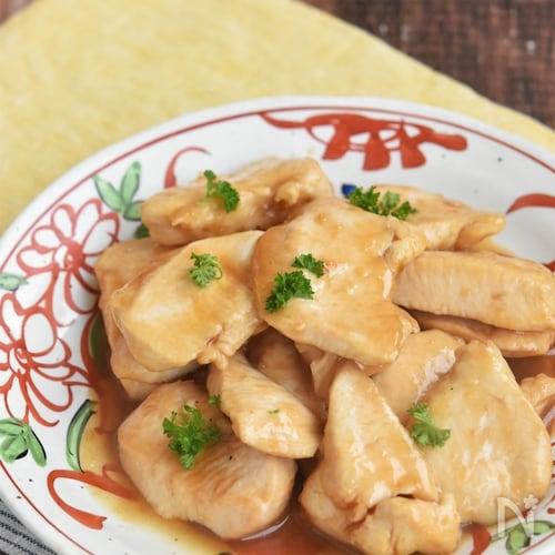 鶏むね肉のやわらか照り焼き【冷凍・作り置き】