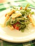 春菊と厚揚げのシーザーサラダ
