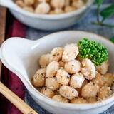 大豆のカリカリ♡コンソメチーズ揚げ【#おやつ #おつまみ 】