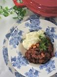 筍入り牛すじチリコンカン(ストウブ料理)