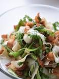 大根と春菊のサラダ