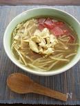 スパイシーでさっぱり♪インドネシアのチキンスープ、ソトアヤム
