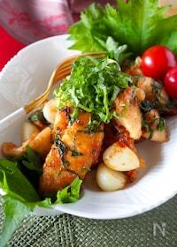 『【ご飯がススム!男子も満足】タレまで美味しいガリバタチキン』