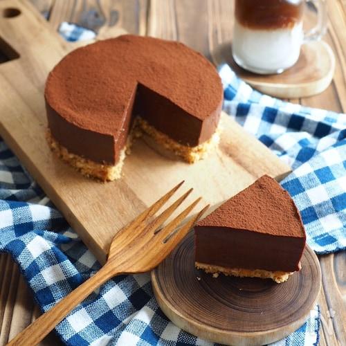 ヨーグルト・レアチョコケーキ