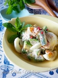 アボカドとゆで卵のヘルシー明太マヨサラダ#簡単