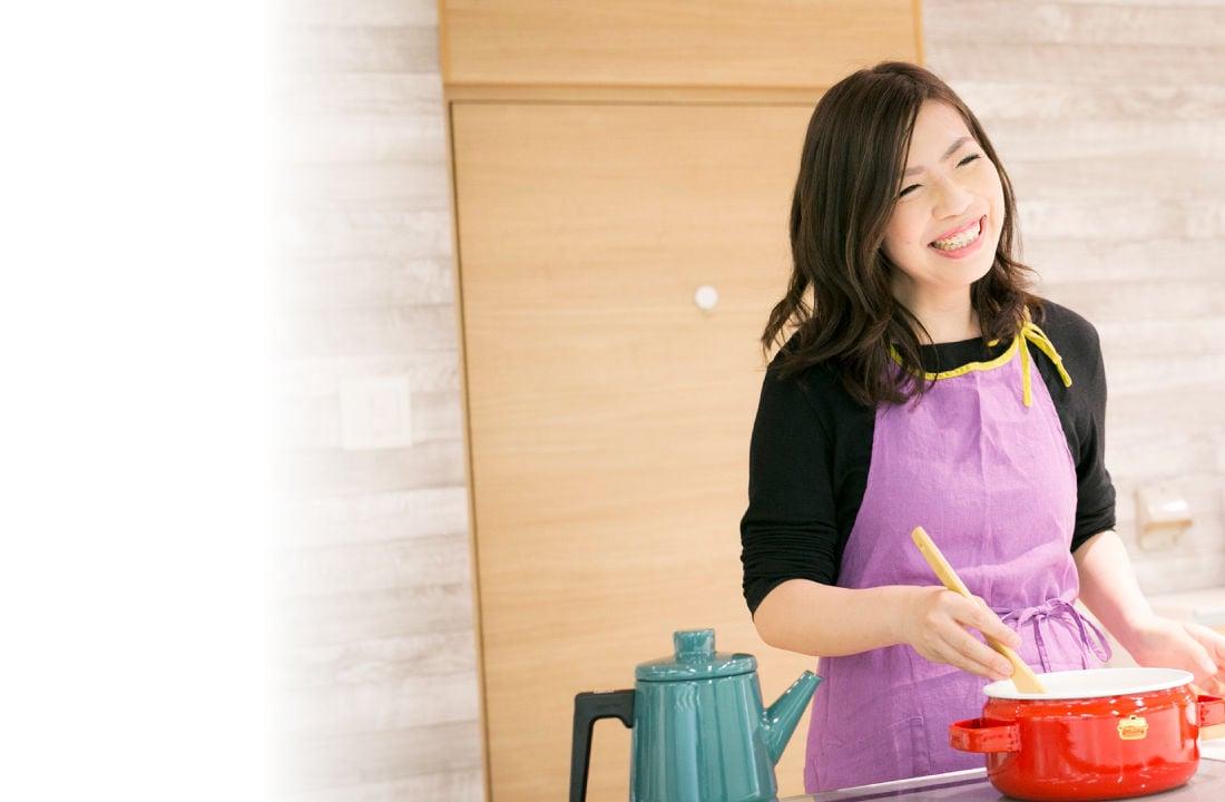 自分や身近な人のために、美味しい料理を作りたい