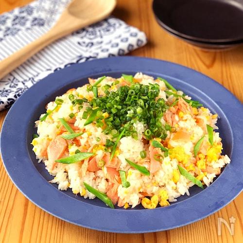 鮭とたまごの混ぜ寿司