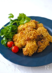 『トースターで簡単!鶏のコーンフレーク焼き〜カレー味』