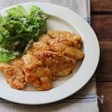 鶏胸肉の甘辛焼き。