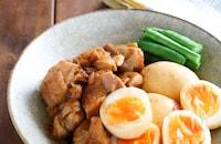 ごはんと食べたい*こっくり味『鶏肉と卵のオイスターソース煮』