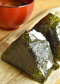 『【とっておきおにぎりバリエ】鮭の柚子胡椒マヨネーズ』