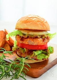 『簡単!自宅で絶品ハンバーガー』