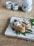 アンチョビと塩揉み胡瓜のチーズ稲荷