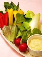 野菜モリモリ♪和ーニャカウダ