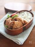 【時短弁当】鶏とレンコンの照り焼き
