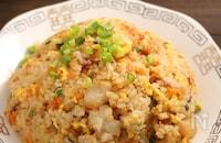 ぷりぷりエビ炒飯☆ピリ辛生姜風味