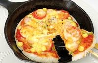 【冷やご飯アレンジ】簡単‼︎おいし〜い♡ライスピザ