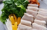 バルサミコ酢でさっぱり♪韓✖️洋のアレンジポッサム