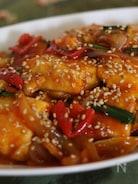 豆腐の甘辛煮(ガンジョン)