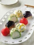 野菜だけでも大満足!!お野菜畑の手まり寿司