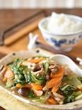 豚バラ白菜のしょうがとろみ煮込み
