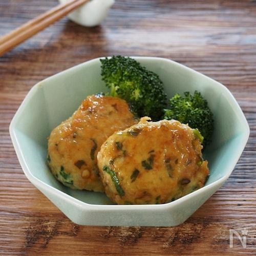 【メタボ解消レシピ】ふわふわ!えのきたっぷりお豆腐つくね