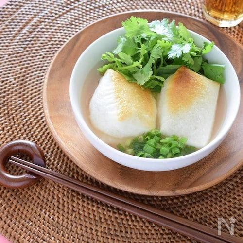 パクチー梅干し雑煮♡魅惑のお雑煮シリーズ
