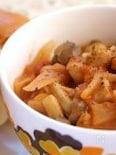 ハーブチキンのトマトクリーム煮