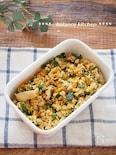 【常備菜】豚キムチの炒り豆腐。ごはんが進む!