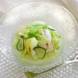 「レタスのしんなりサラダ」冷製スープ仕立て