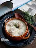 れんこんのミートボールミルクスープ