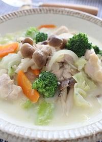 『食べるスープ♥味噌バター味』