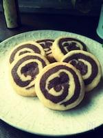 アイスボックス渦巻きクッキー♪