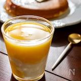 爽やか!ヨーグルトジュースオレンジ味