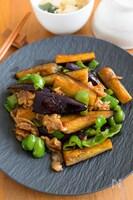 ご飯が進む!夏野菜たっぷり『なすとピーマンと豚肉の甘酢炒め』