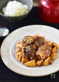 『材料2つ・調味料2つ。気絶級!鯖みそ竜田の麻辣炒め。#鯖缶』