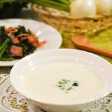 甘い!かぶのポタージュ。おもてなしにぴったりな洋風スープ。