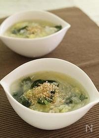 『【圧力鍋】鶏皮と白菜の極旨スープ』