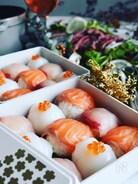お祝い紅白手毬寿司